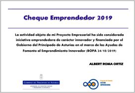 Cheque Emprendedores 2019
